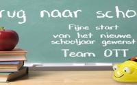Een nieuw schooljaar!!